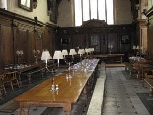 Christ Church Harry Potter oxford Great Hall
