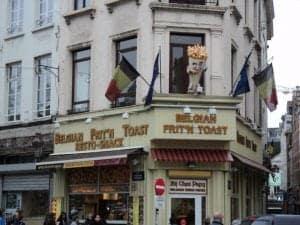 frites Brussels, Belgium