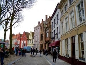 walkable cities Bruges