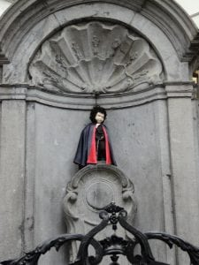 Mannekin Pis Brussels, Belgium