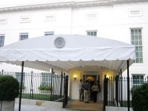 West Wing Entrance EOP internship