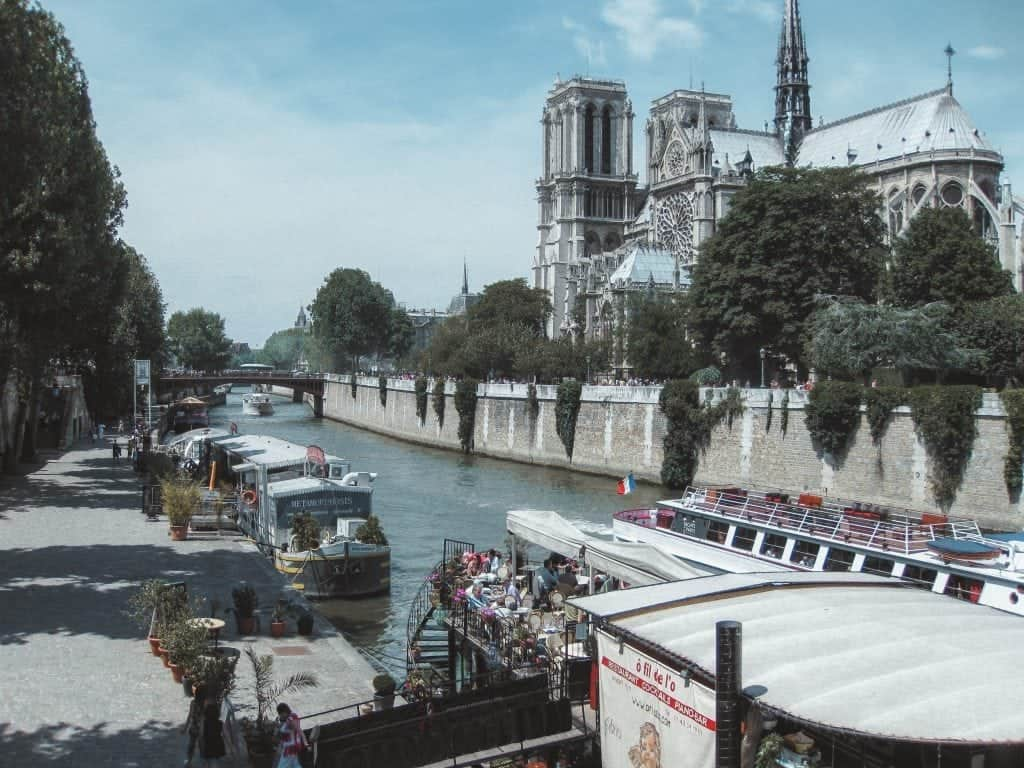 Paris Itinerary: Seine River