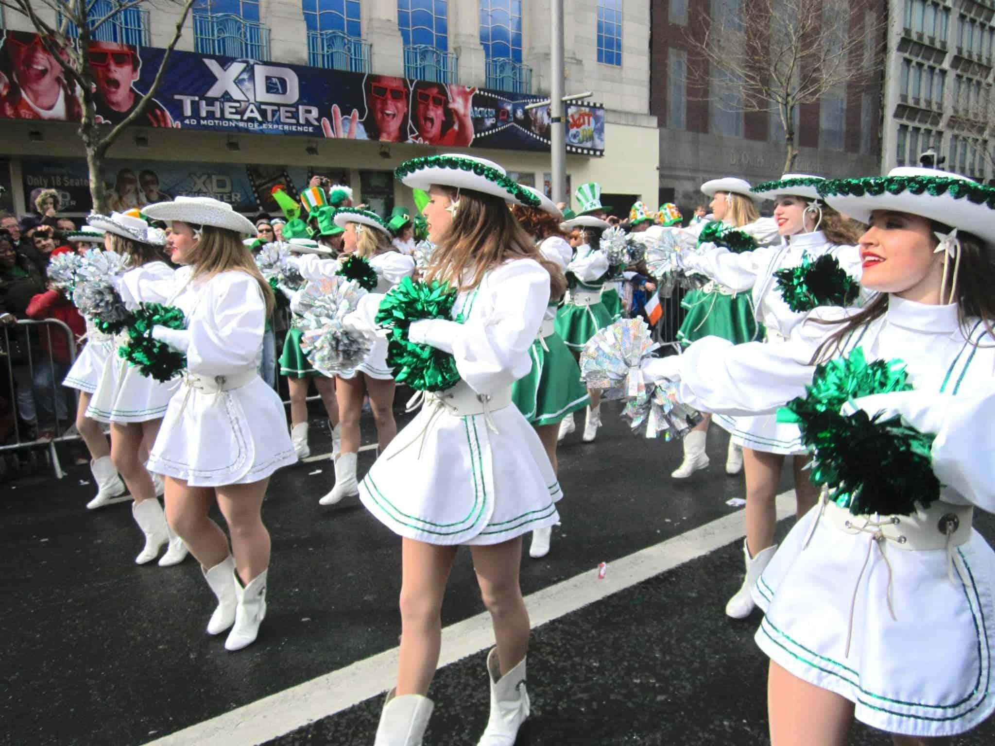 St Patrick's Day Dublin parade