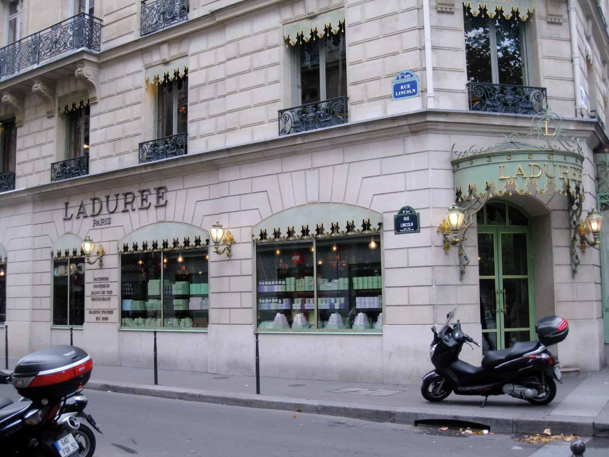 Paris Itinerary: Laduree on the Champs-Elysees