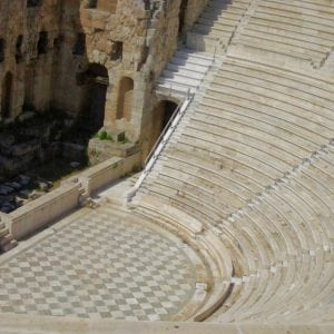 ruins Athens, Greece