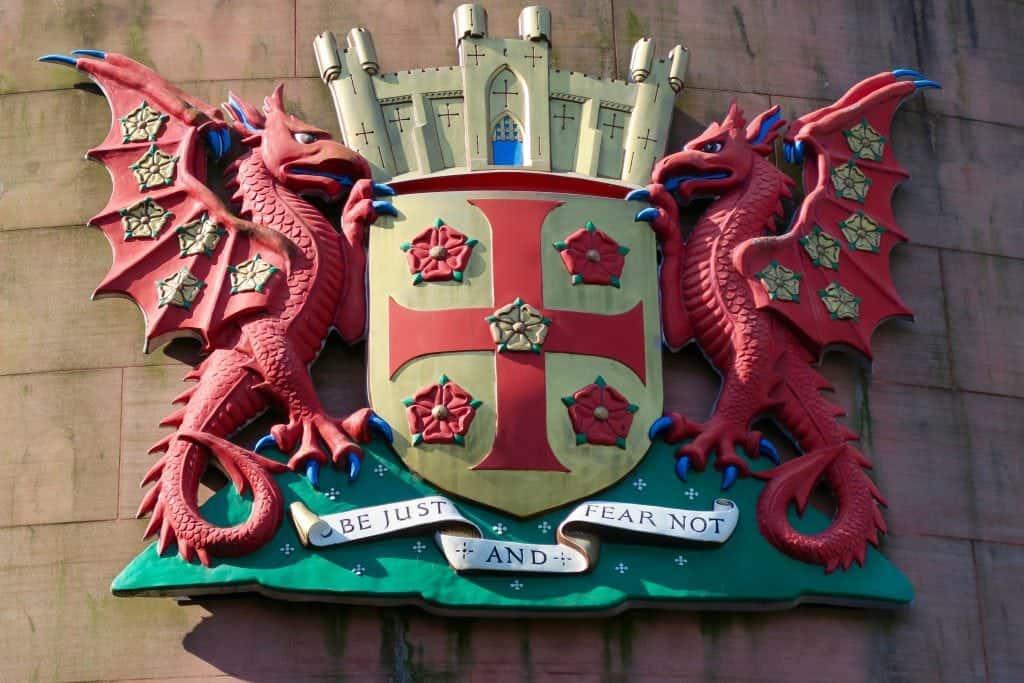 Castle crest King Arthur