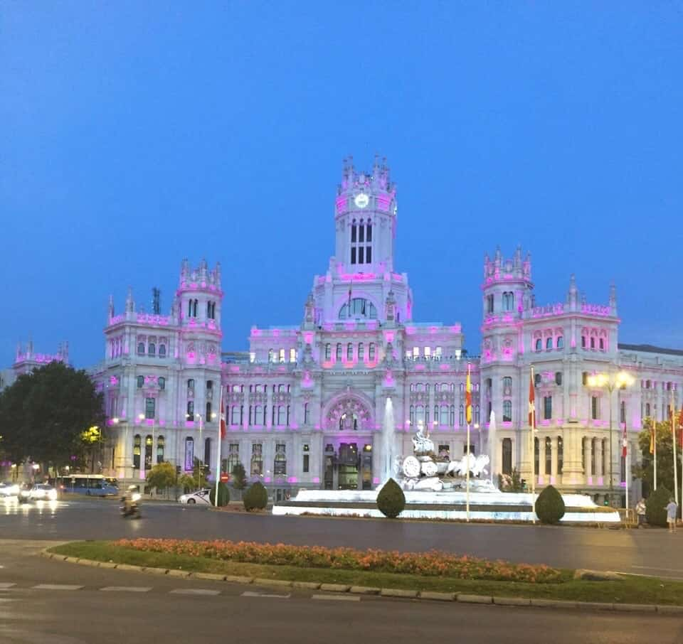 Plaza de Cibeles Madrid