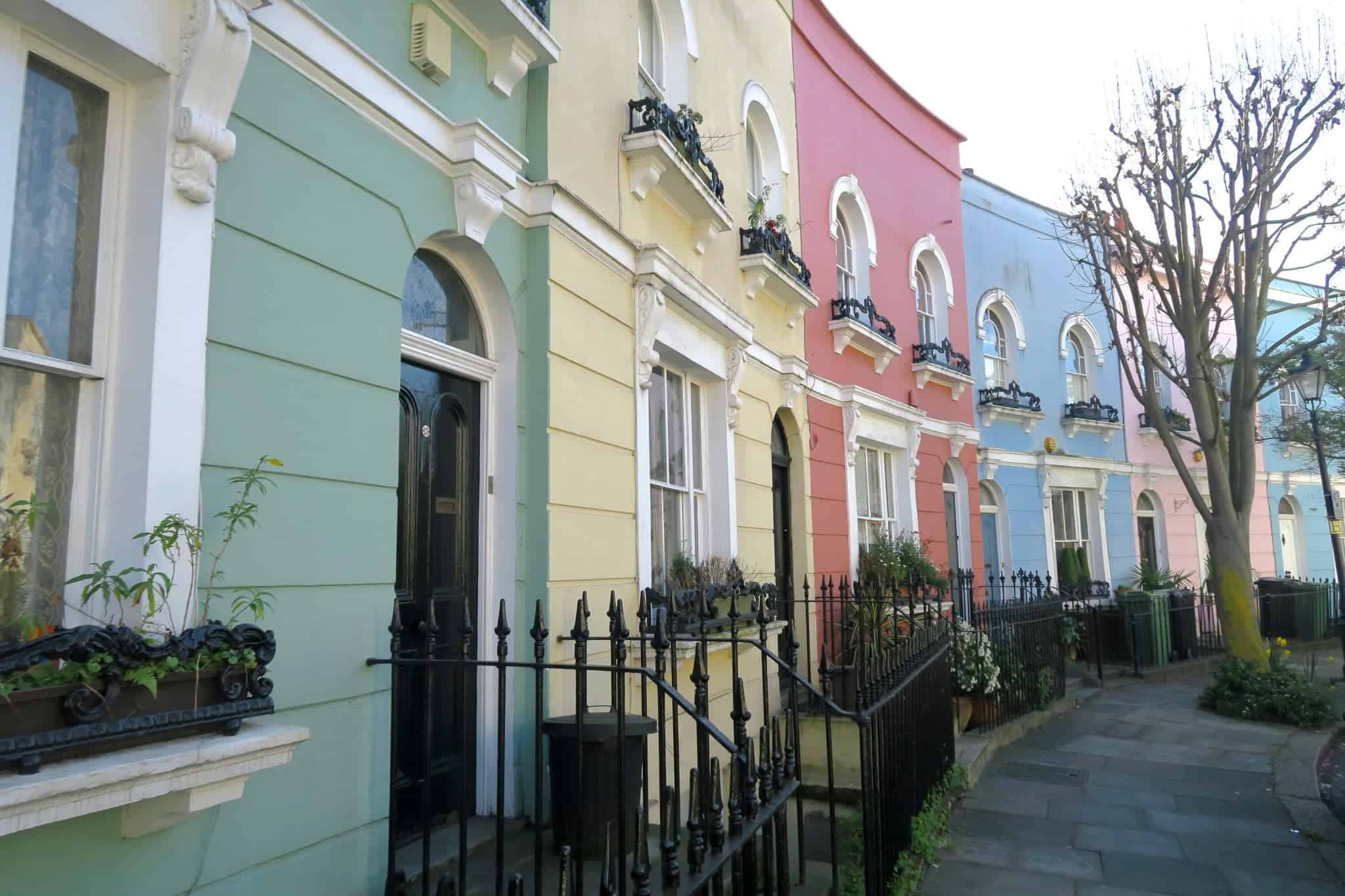"London streets in ""Best Hostels in Europe for Solo Travelers & Backpackers"""