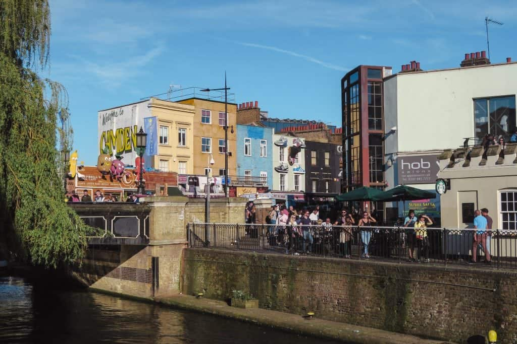 5 Days in London Itinerary Camden Town