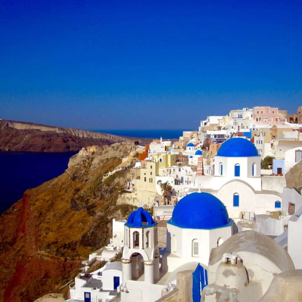 Oia, Santorini, Greece itinerary