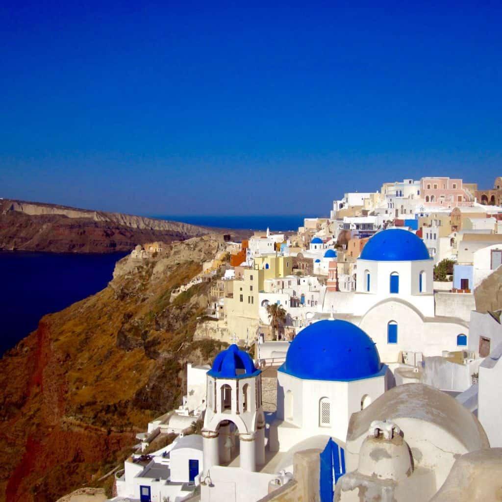 Oia, Santorini, Greece itinerary