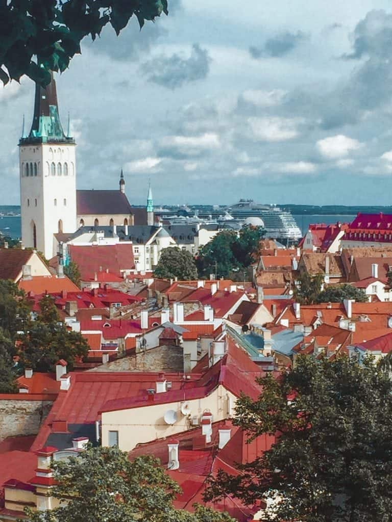 Baltic Sea Cruise Port Estonia