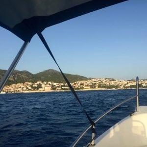 renting a boat in Hvar, Croatia