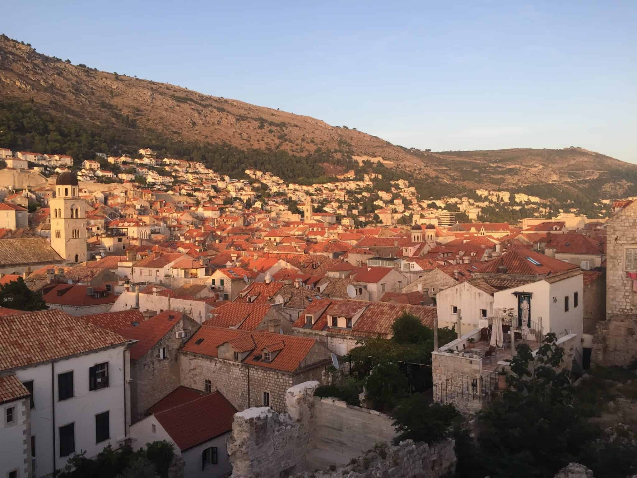 "Dubrovnik Old Town in in ""Best Hostels in Europe for Solo Travelers & Backpackers"""