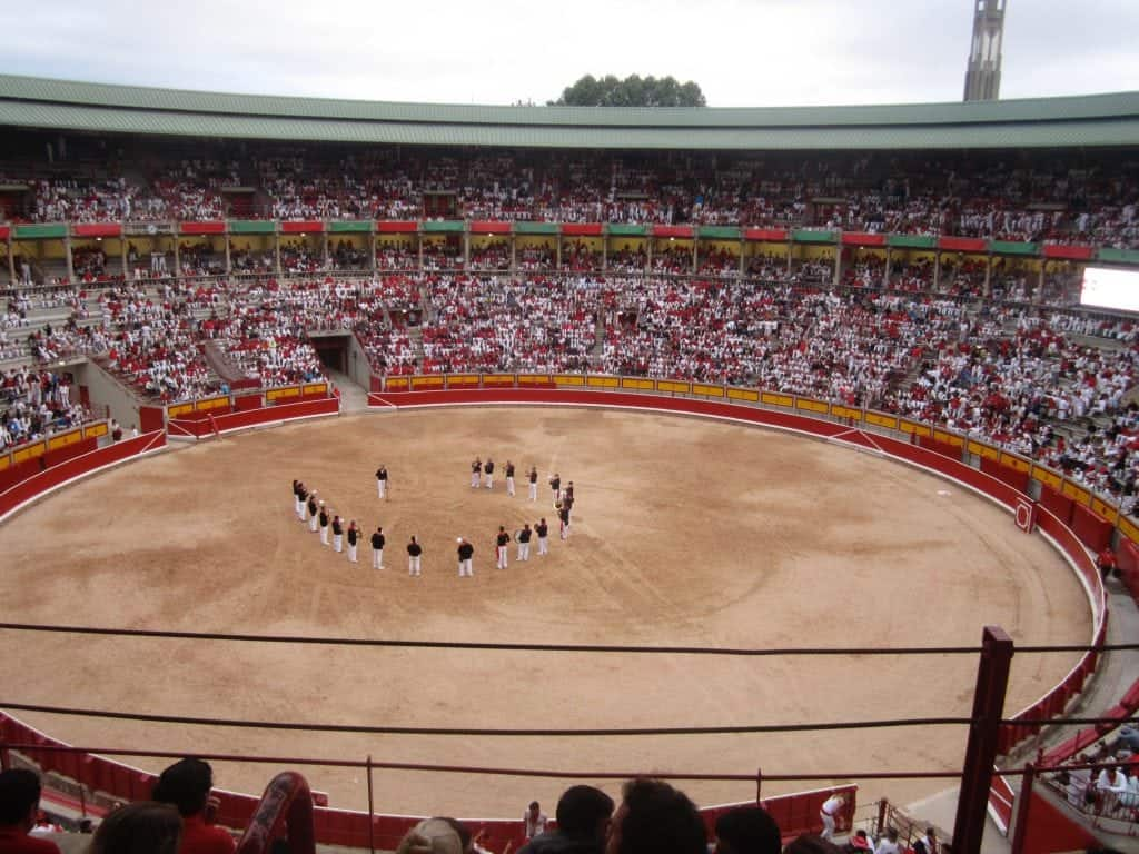 Running of the Bulls Pamplona, Spain