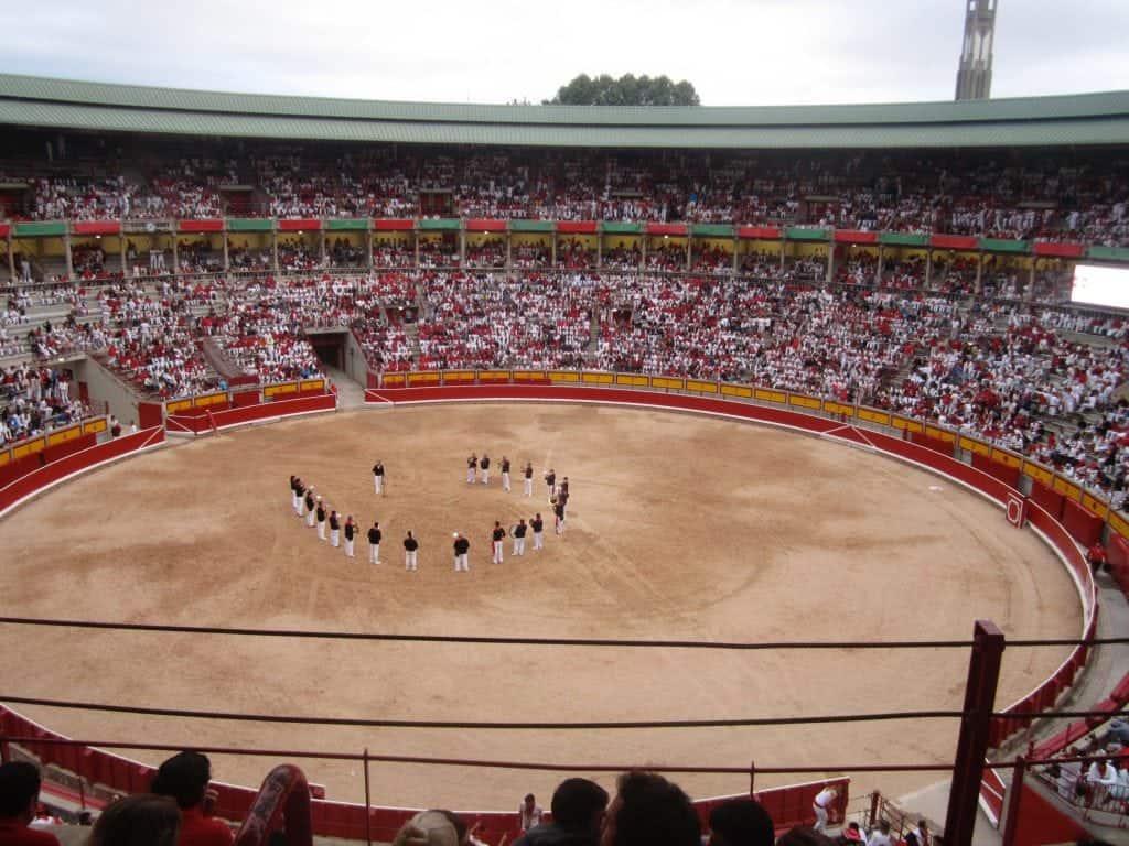 Running of the Bulls Pamplona, Spain