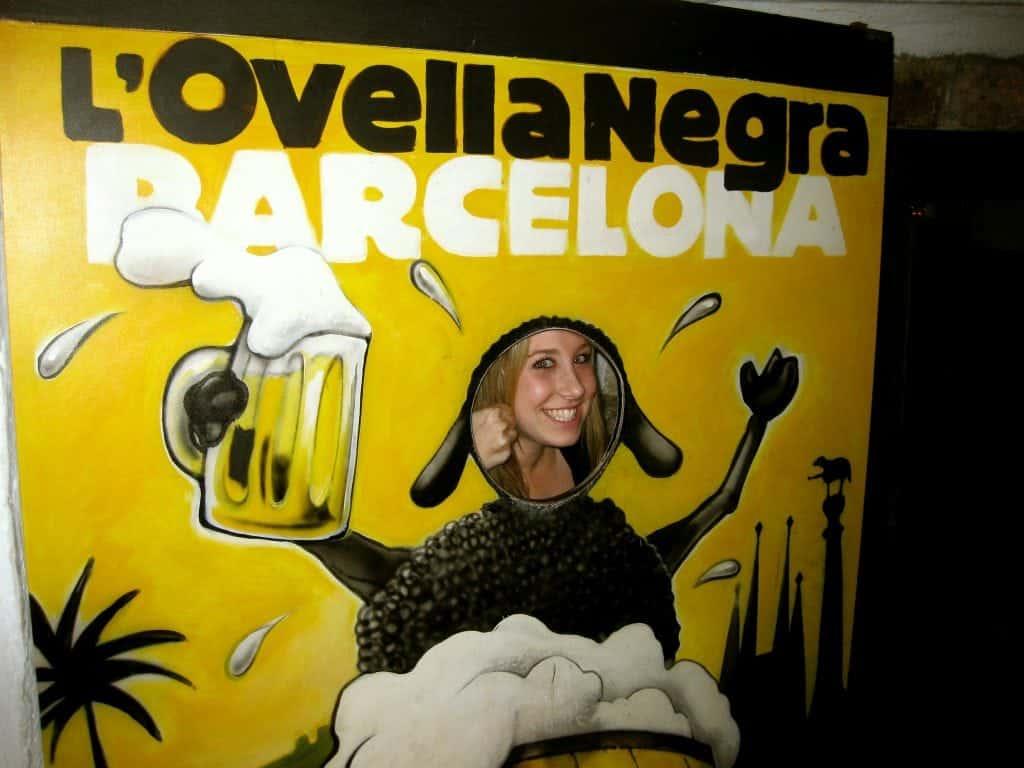 L'Ovella Negra Barcelona studying abroad