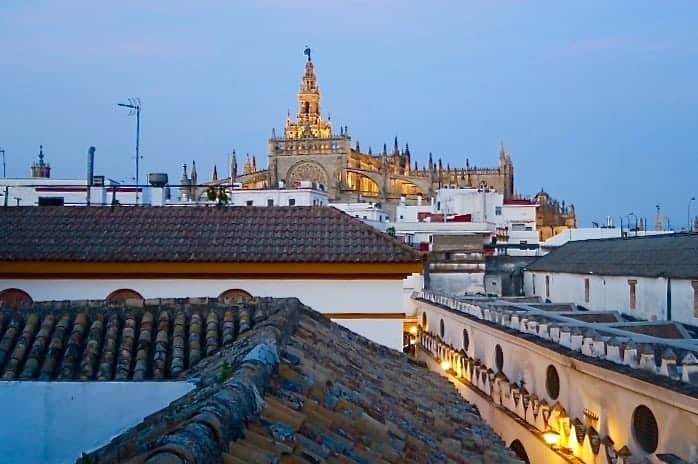 "La Banda rooftop Seville, Spain in ""Best Hostels in Europe for Solo Travelers & Backpackers"""