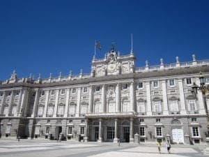 Madrid palace spontaneous summer