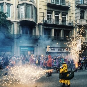 La Merce Festival in Europe Children's Correfoc