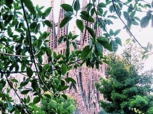 Spain itinerary Sagrada Familia