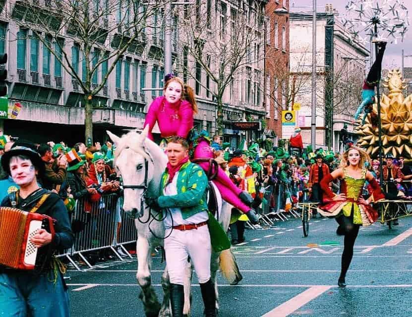 St. Patrick's Day Dublin, Ireland parade
