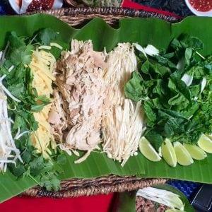 Soup Ingredients Lao Cuisine
