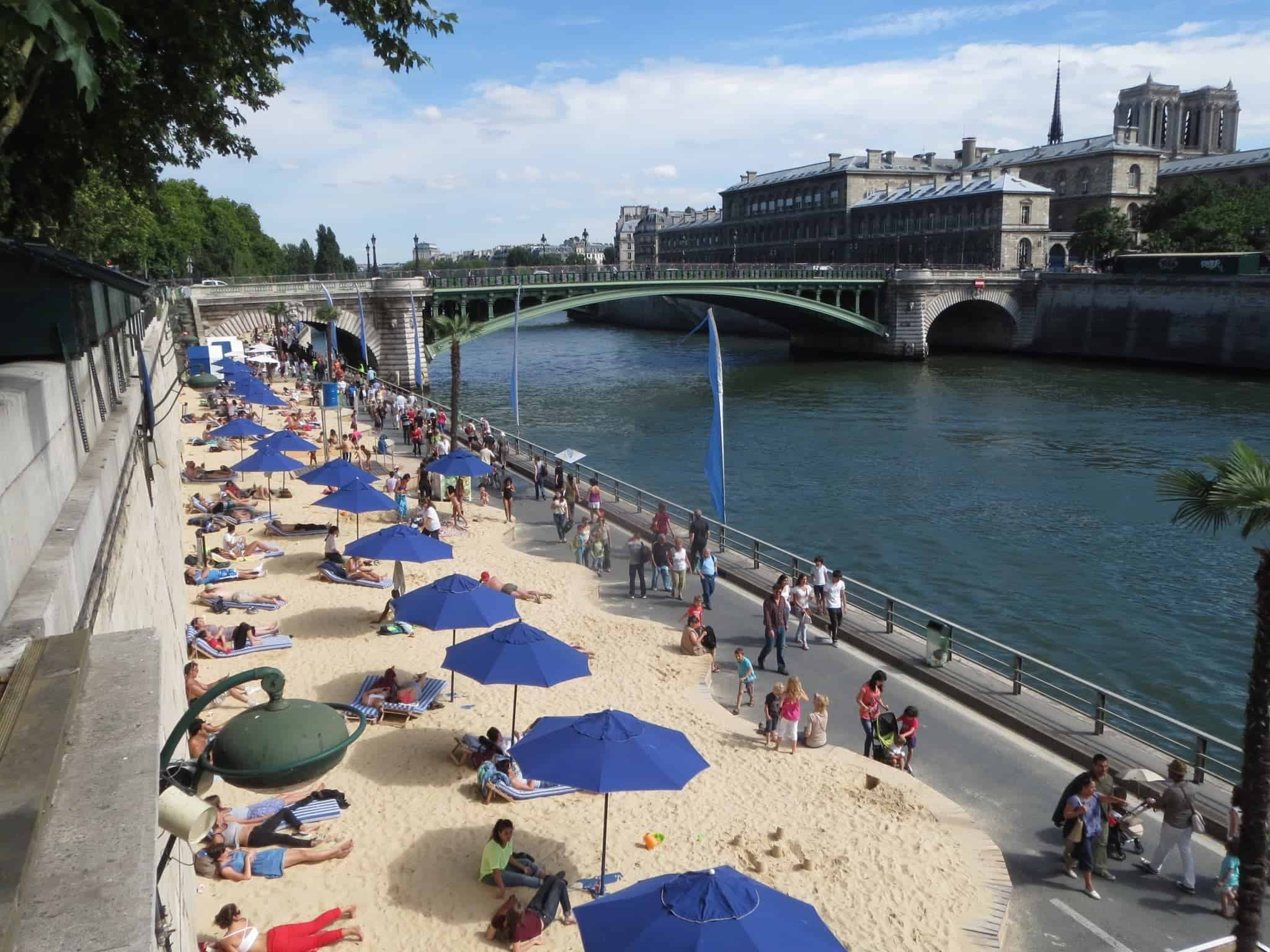 Paris Itinerary: Paris Plages