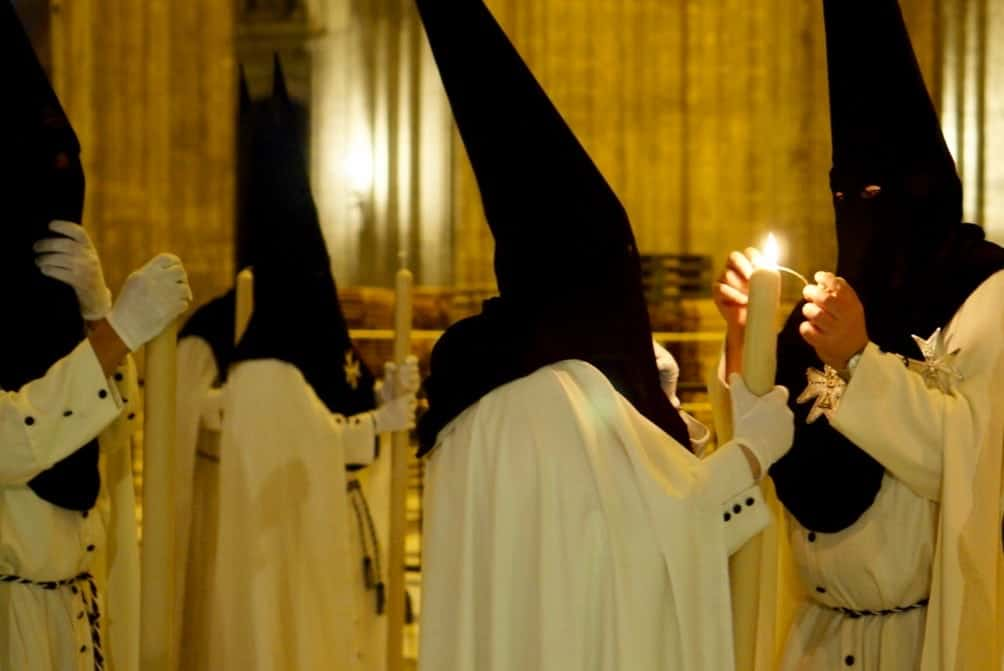 Semana Santa in the cathedral of sevilla