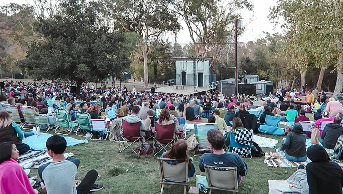 fun activities in los angeles: shakespeare in the park