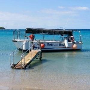 outdoor activities glass bottom boat tour