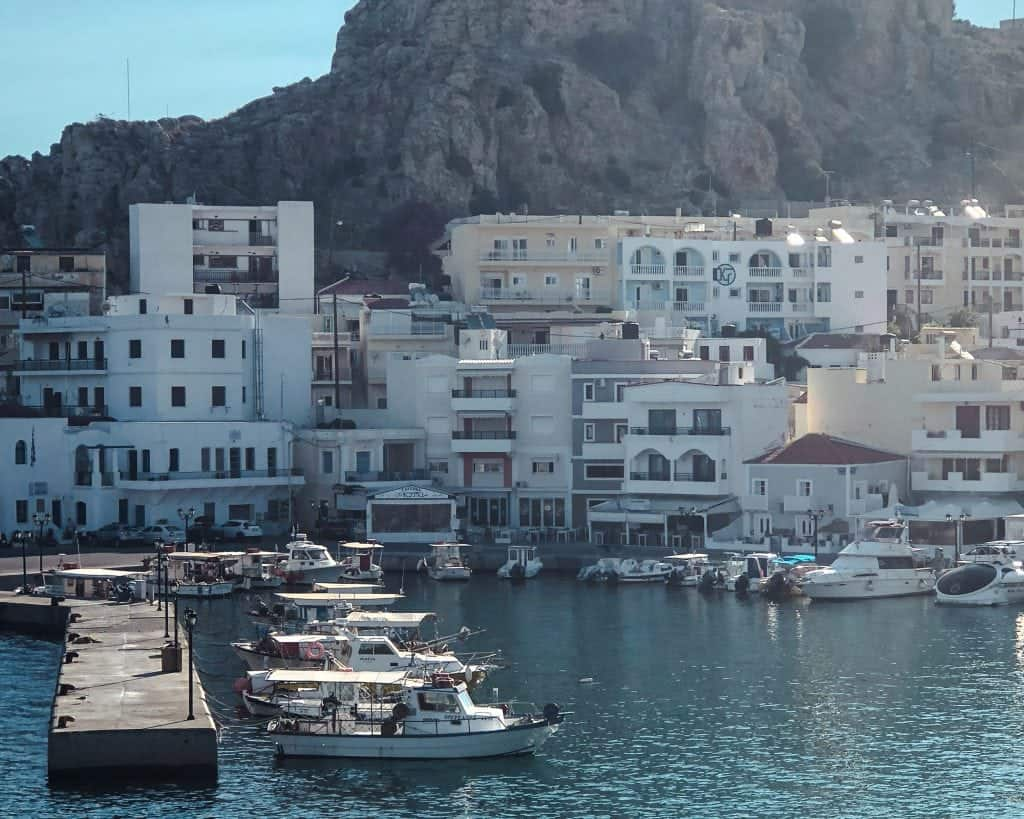 Greek Island Hopping Itinerary Karpathos Port