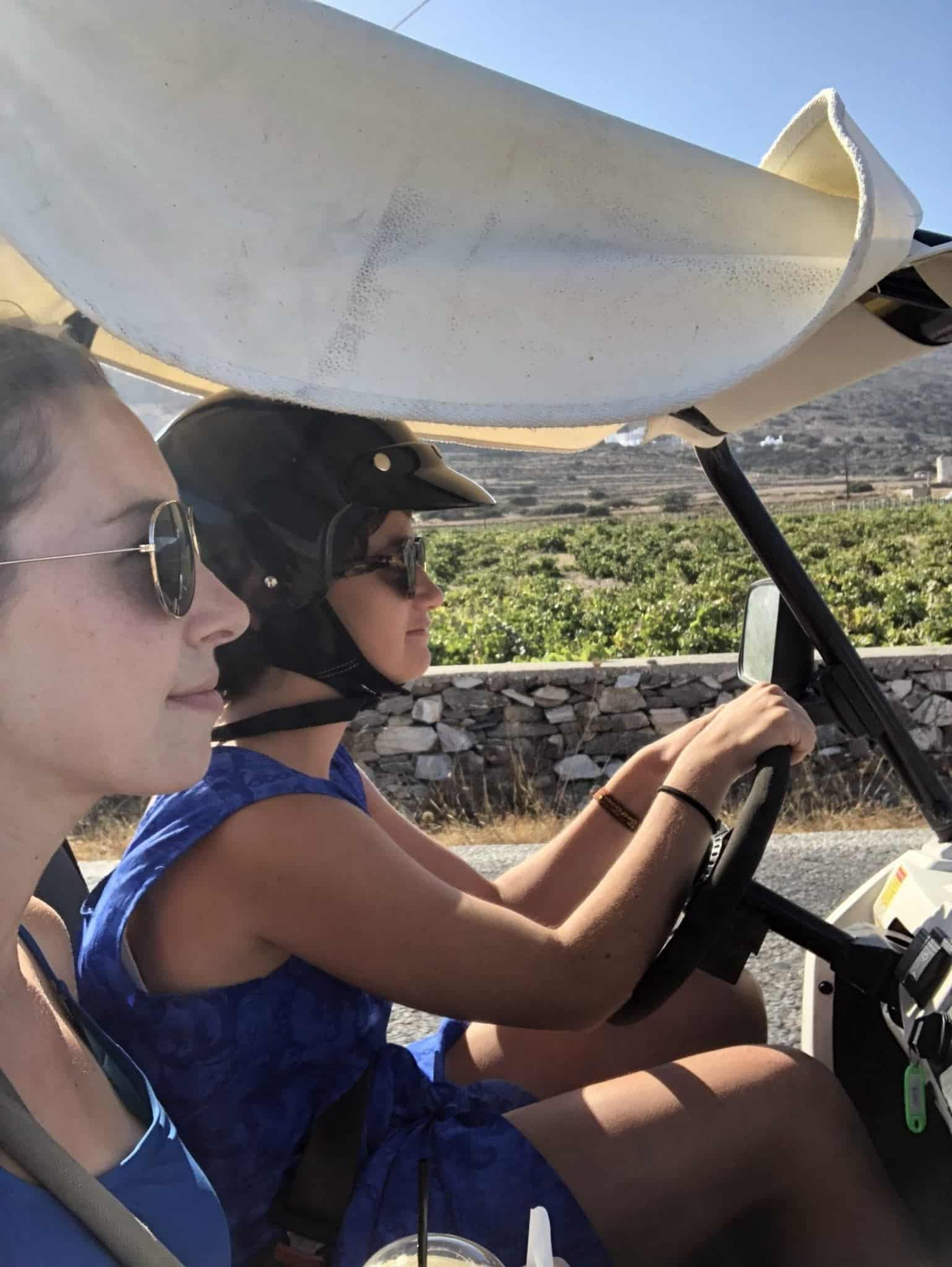 Dune Buggy Paros with Dora