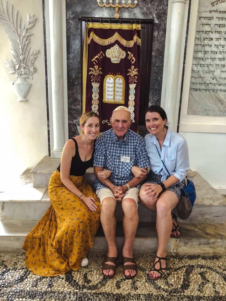 Kahal Kadosh Synagogue Rhodes