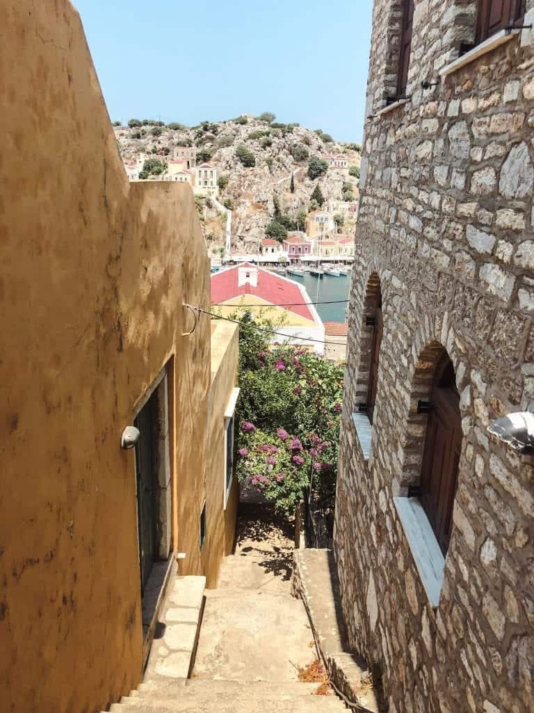 Kali Strata Steps: Rhodes to Symi Day Trip
