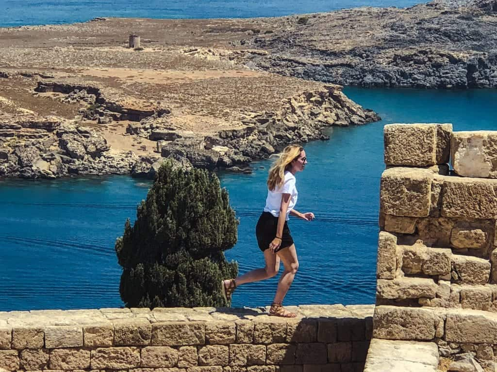 Rhodes Itinerary: Acropolis of Lindos Overlook