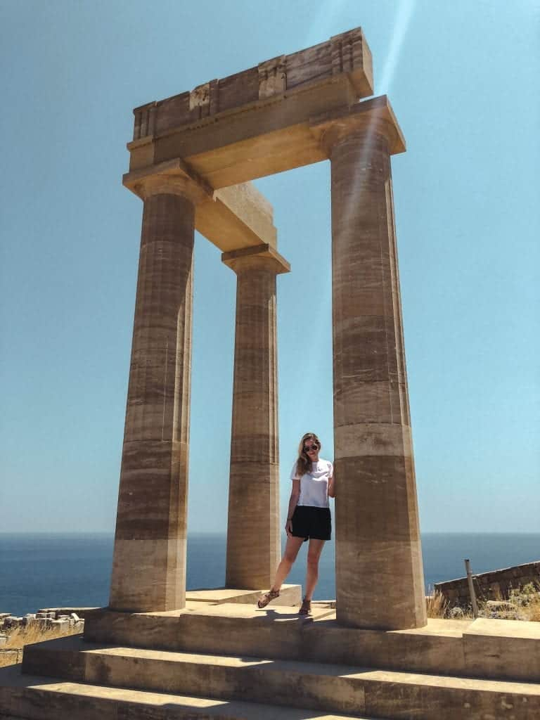 Rhodes Itinerary: Acropolis of Lindos