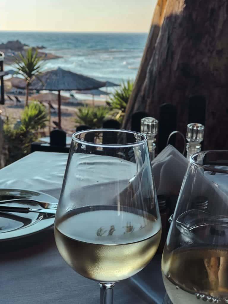 Rhodes Itinerary: Oceanside Taverna