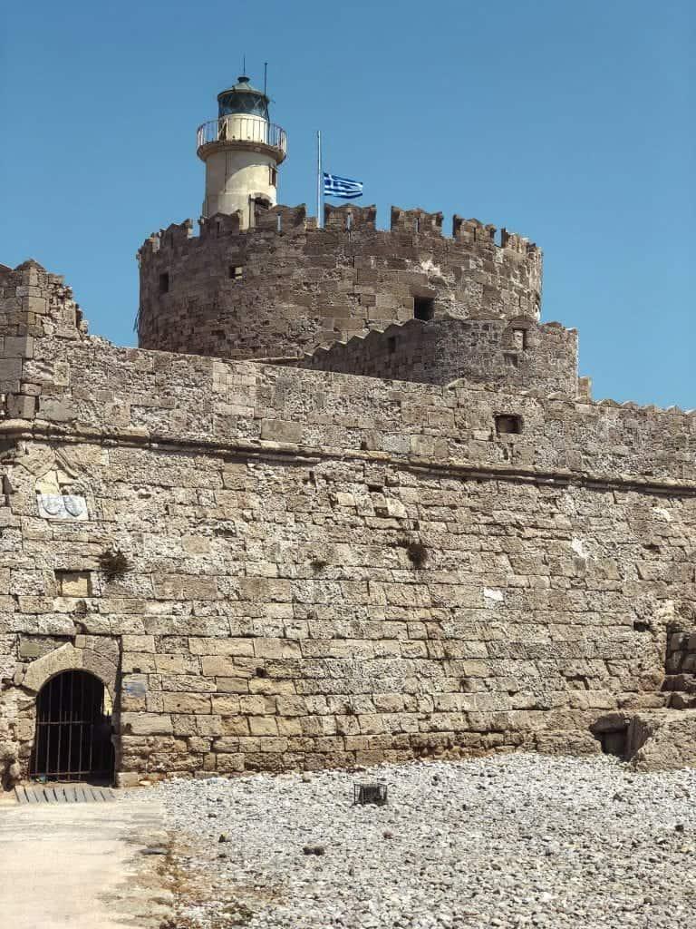 Rhodes Itinerary: Mandraki Harbour