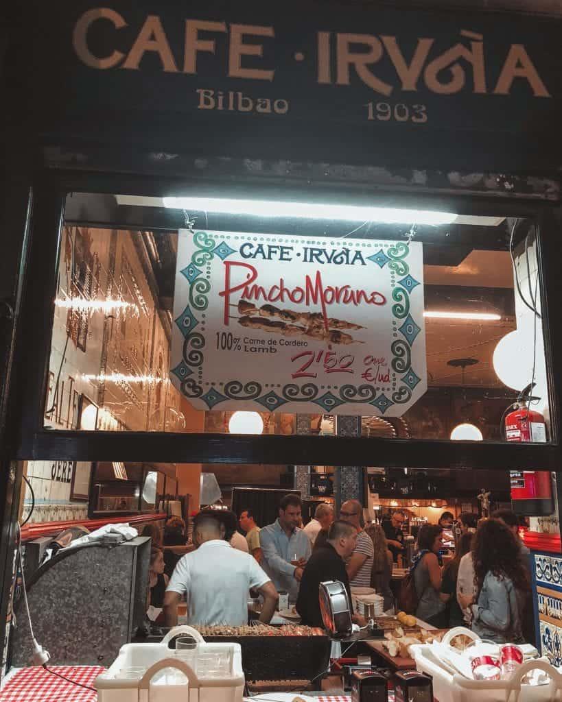 Cafe Iruna Bilbao