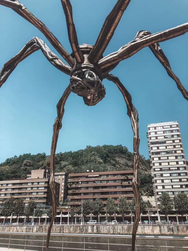 Maman at the Guggenheim Bilbao