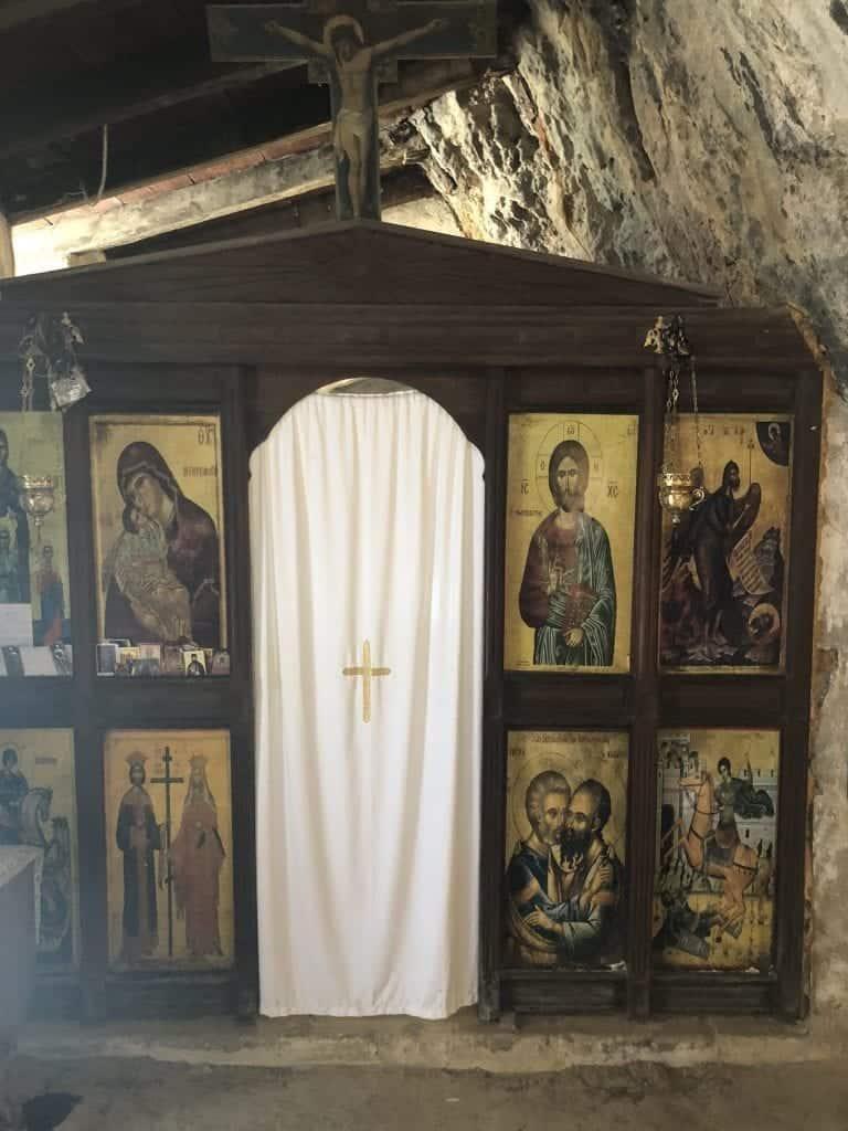 Agia Sofia Cave Monastery Topolia Gorge