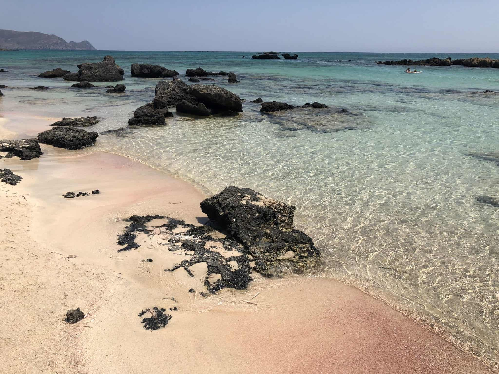 Elafonissi Beach Travel Guide To Pink Beach Crete World