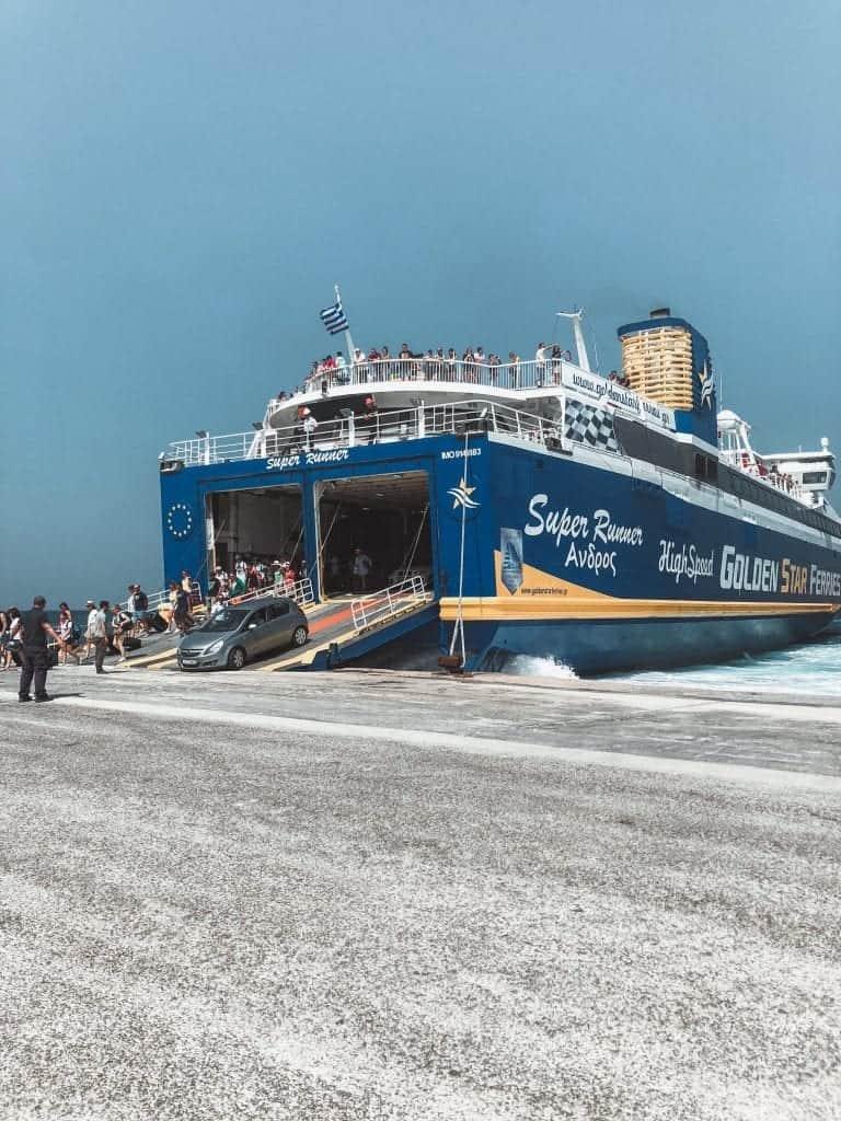 Athens to Paros: Ferry or Flight? Travel Mainland to Island ~ World