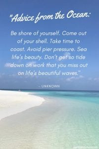 30 Best Beach Quotes You Need To Read World On A Whim