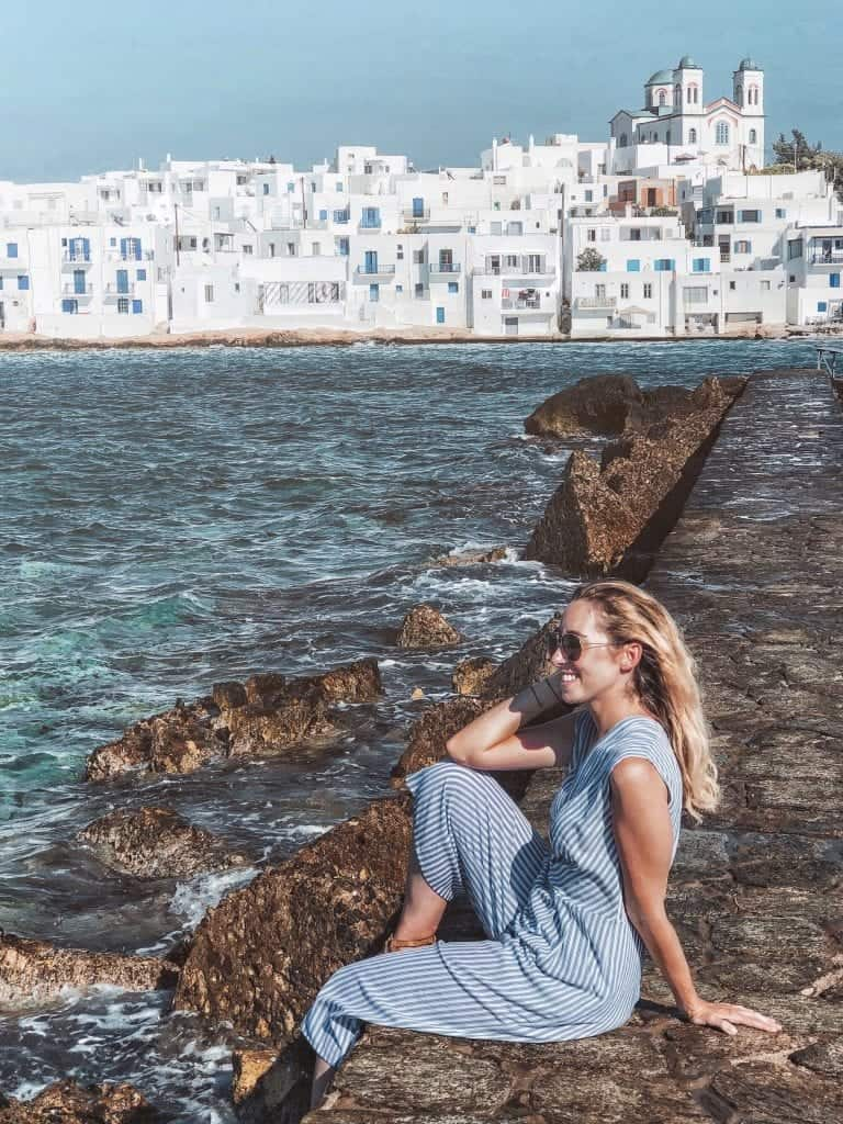 Venetian castle best things to do in Naoussa, Paros