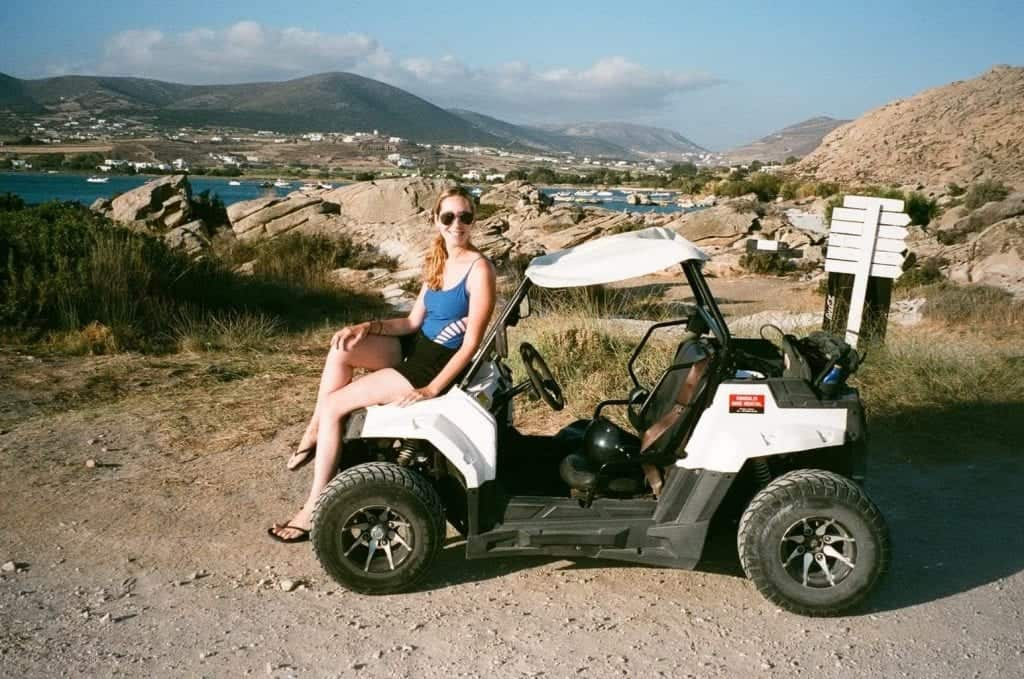 ATV and Dune buggy rental what to do in Paros