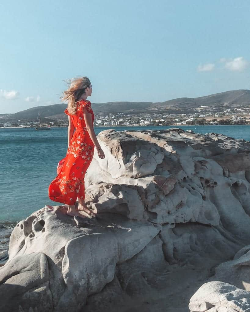 best beaches in Paros