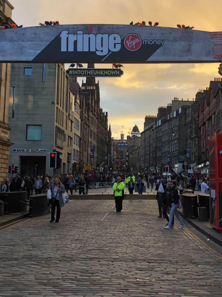 Edinburgh Festival Fringe Royal Mile