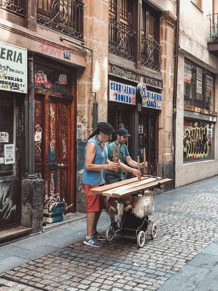 Aste Nagusia street music